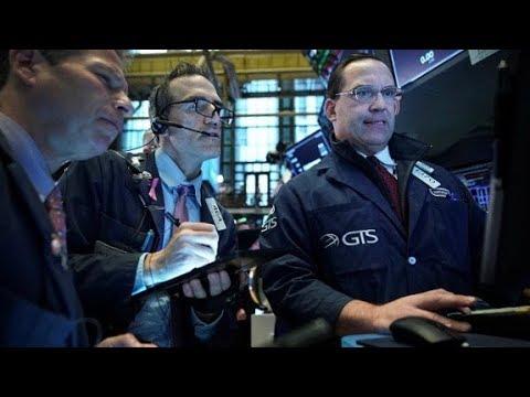 Stocks tumble as trade war between US and China escalates