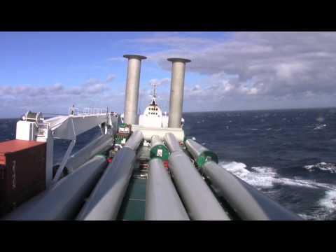E-Ship 1 auf hoher See