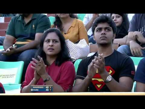 Stan Wawrinka vs Benoit Paire FULL MATCH Chennai OPEN 2016 PART 1