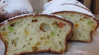 Творожный кекс с цукатами без масла