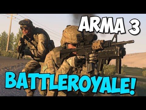 Arma 3 : Battleroyale (Голодные Игры ) #1