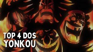 Top Quatro dos Yonkous de One Piece