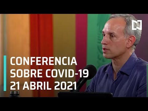 Informe Diario Covid-19 en México - 21 abril 2021