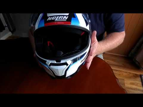 My Nolan N87 Red, White, Blue Helmet Review