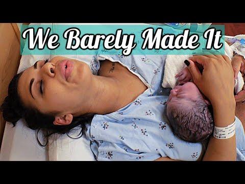 labor-and-delivery-vlog-2019-no-epidural-/-had-baby-in-3-minutes