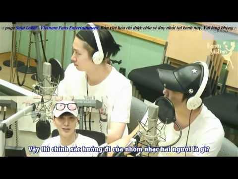 [VIETSUB] [RAMEN] 120716 Kiss The Radio Heechul & Jungmo FULL (Đã Fix)