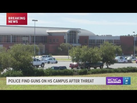 Police find guns on Rock Hill high school campus after threat