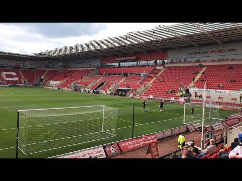 Rotherham United Vs Charlton Athletic - Match Day Experience