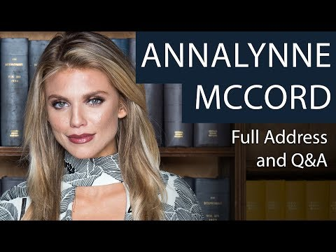 AnnaLynne McCord | Full Address and Q&A | Oxford Union