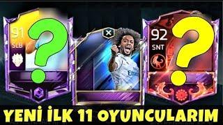 TOTY KARTTAN DAHA EFSANE 2 YENİ İLK 11 OYUNCUM !! Fifa Mobile