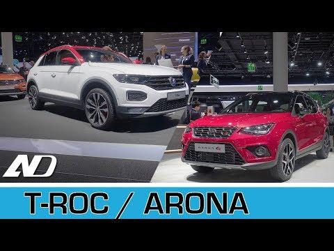 Volkswagen T-ROC y Seat Arona - Frankfurt Auto Show 2017