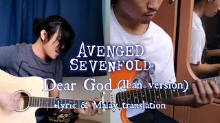 A7x - Dear God [cover] Iban Version by Dave & Calvin