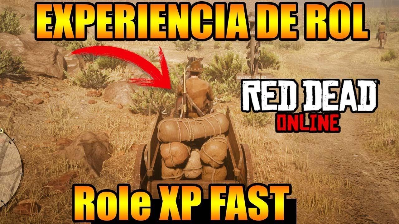 Red Dead Redemption 2 ONLINE FAST ROLE EXP Trader EXPERIENCIA DE COMERCIANTE RÁPIDA