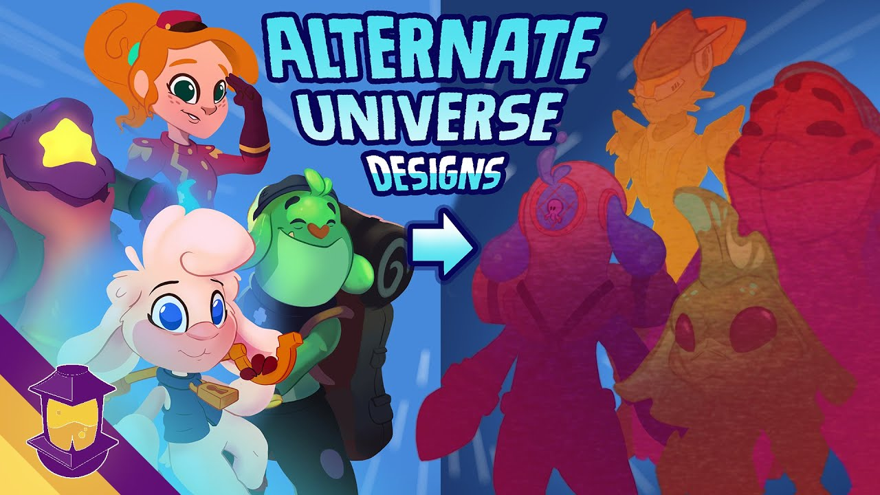 How To Give Your Original Characters ALTERNATE UNIVERSE Designs