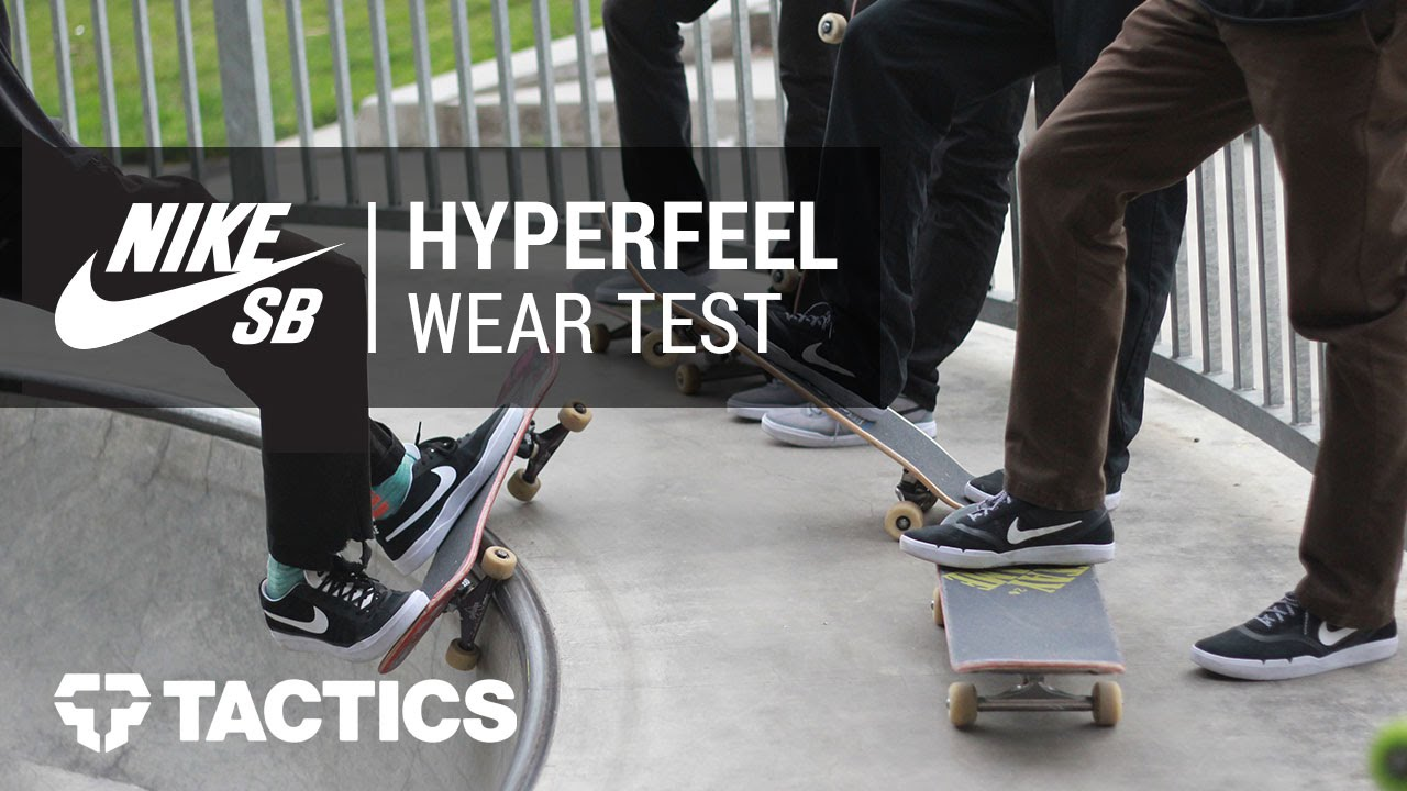 7b7a90fa385 Nike SB Hyperfeel Community Wear Test Review - Tactics.com - YouTube