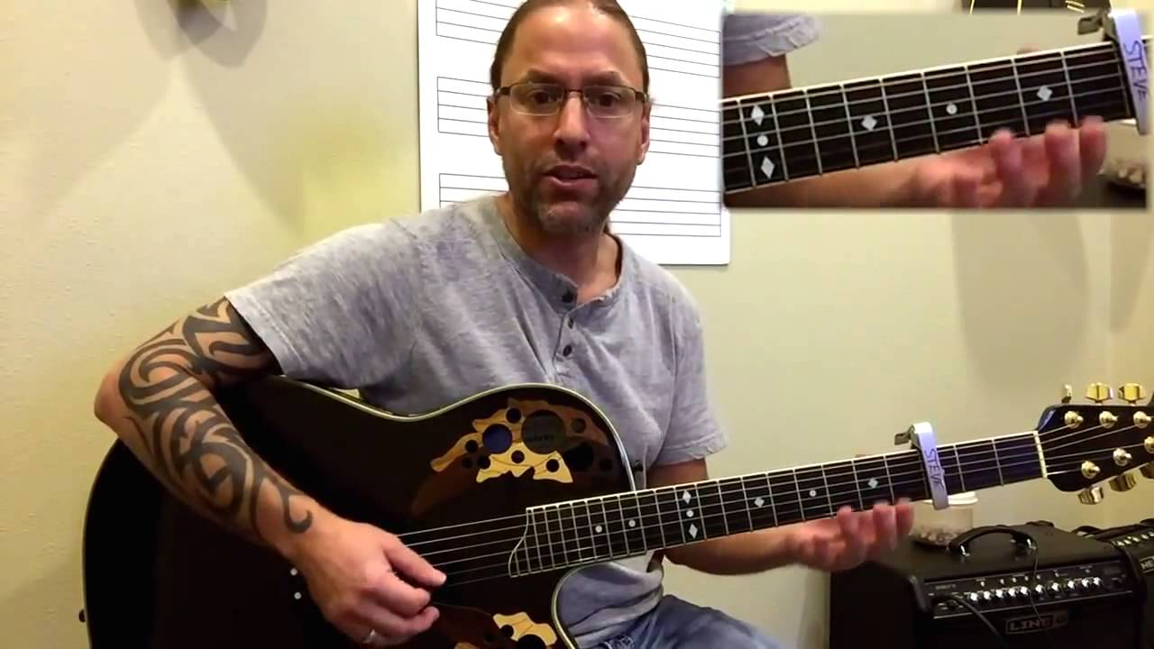 steve stine easy guitar lesson learn how to play glad you came by the wanted youtube. Black Bedroom Furniture Sets. Home Design Ideas