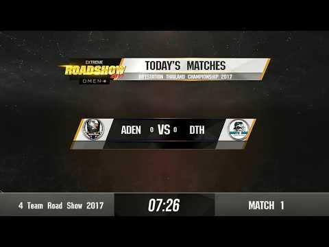 Infestation Thailand Championship 2017 ภาคกลาง คู่ ADEN VS DTH