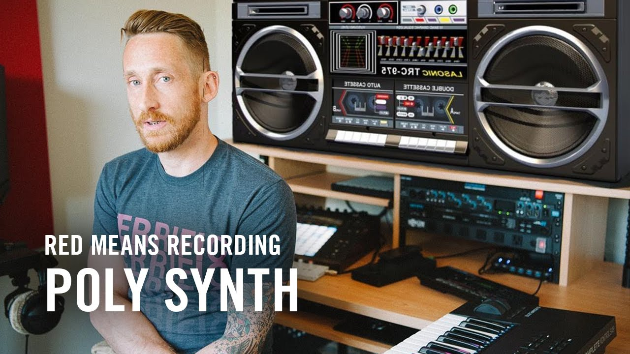 MASCHINE Poly Synth with Red Means Recording | Native Instruments