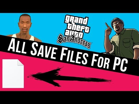 How To Download GTA San Andreas All Mission Save Files