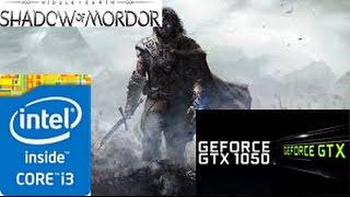 Middle-Earth Shadow of Mordor: GTX 1050 TI 4GB i3 4160