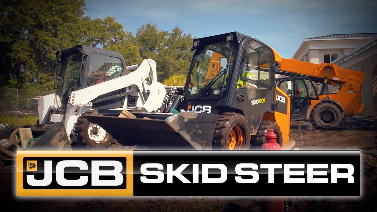 JCB's Side-Entry Skid Steer…..It's Just Common Sense.
