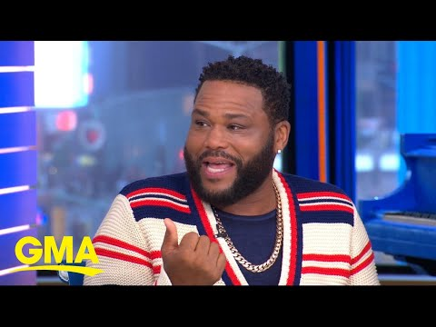 Catching up with Anthony Anderson live on 'GMA'