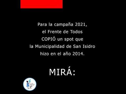 """El FDT plagió la campaña """"Sí"""" de 2041 que hizo San Isidro?"""