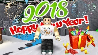 2018 HAPPY NEW YEARS EVE IN ROBLOX FLEE THE FACILITY???