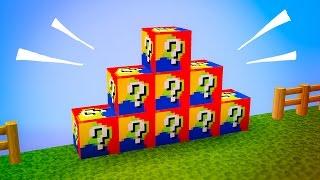 Minecraft LUCKY BLOCK - MYSTERIOUS BLOCKS 🎁