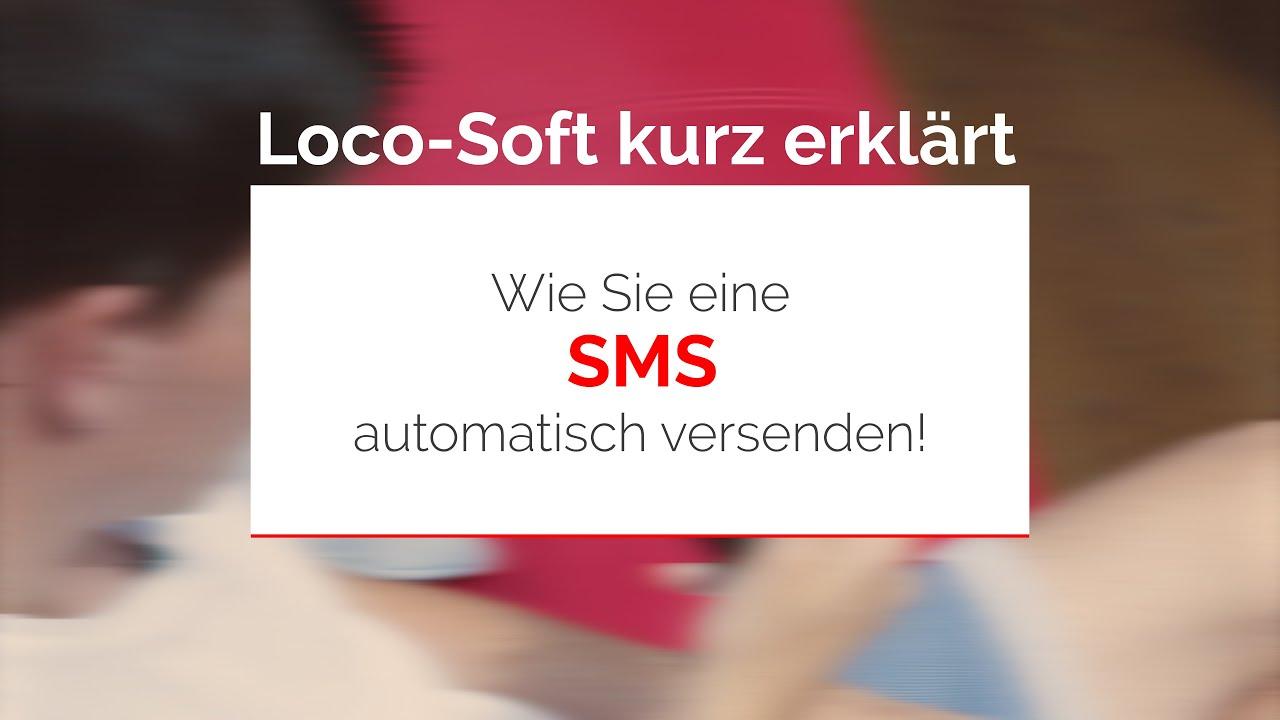 Wie Sie eine SMS automatisch versenden! - YouTube