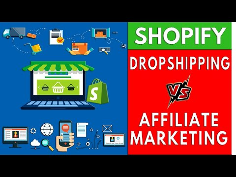 Affiliate Marketing VS Dropshipping (Ecommerce) | Which is More Profitable? thumbnail