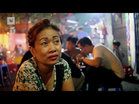 Sidewalk Vendors in Ho Chi Minh City