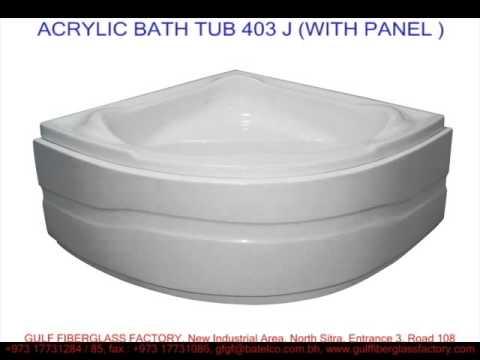 Fiberglass Bath Tubs Acrylic Corner Bath Tubs Youtube