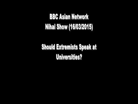 Should Extremists Speak in British Universities? (Nihal Show)