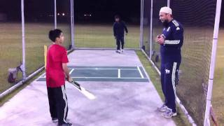 cricket coaching with saqlain mushtaq