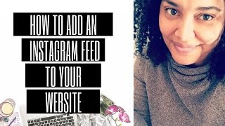 How to Add Instagram Feed to Website
