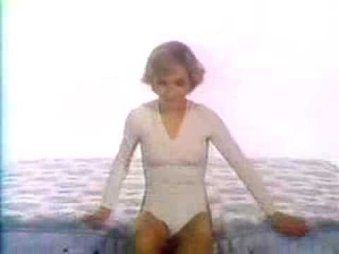 Cathy Rigby for Beautyrest 1979 TV commercial  YouTube