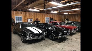 LS6 Chevelle Hoarder Lets Me See in His Garage!!!
