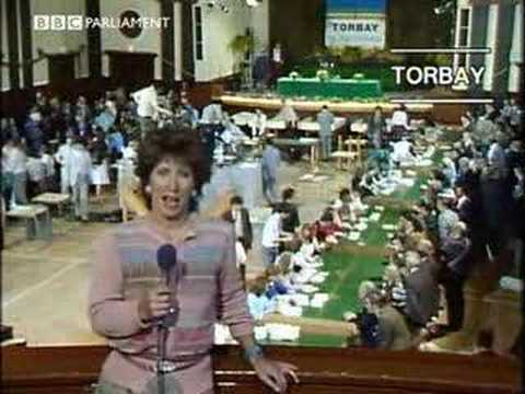 BBC Election 83 theme and opening segment