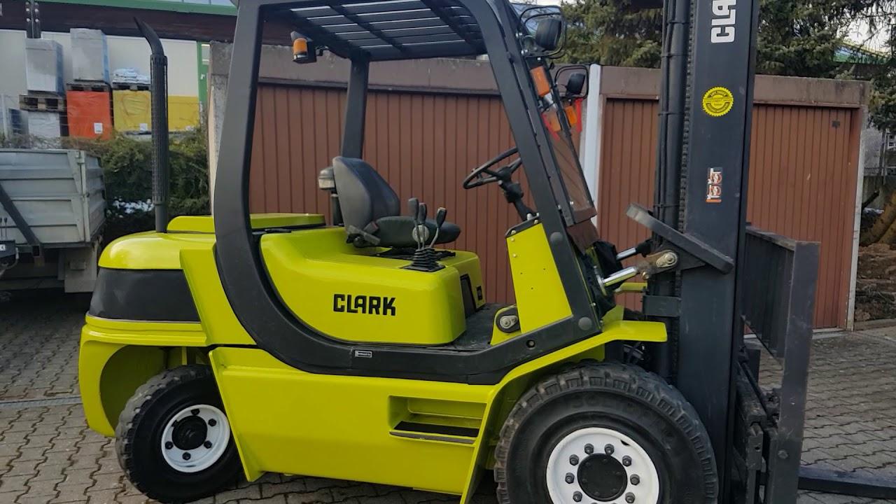 Used Clark CMP 50 SD 5to Diesel Dieselstapler mit Standard Mast sale