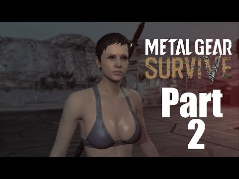 """Metal Gear Survive Walkthrough Gameplay Part 2 """"Collecting The Pieces!!!"""""""