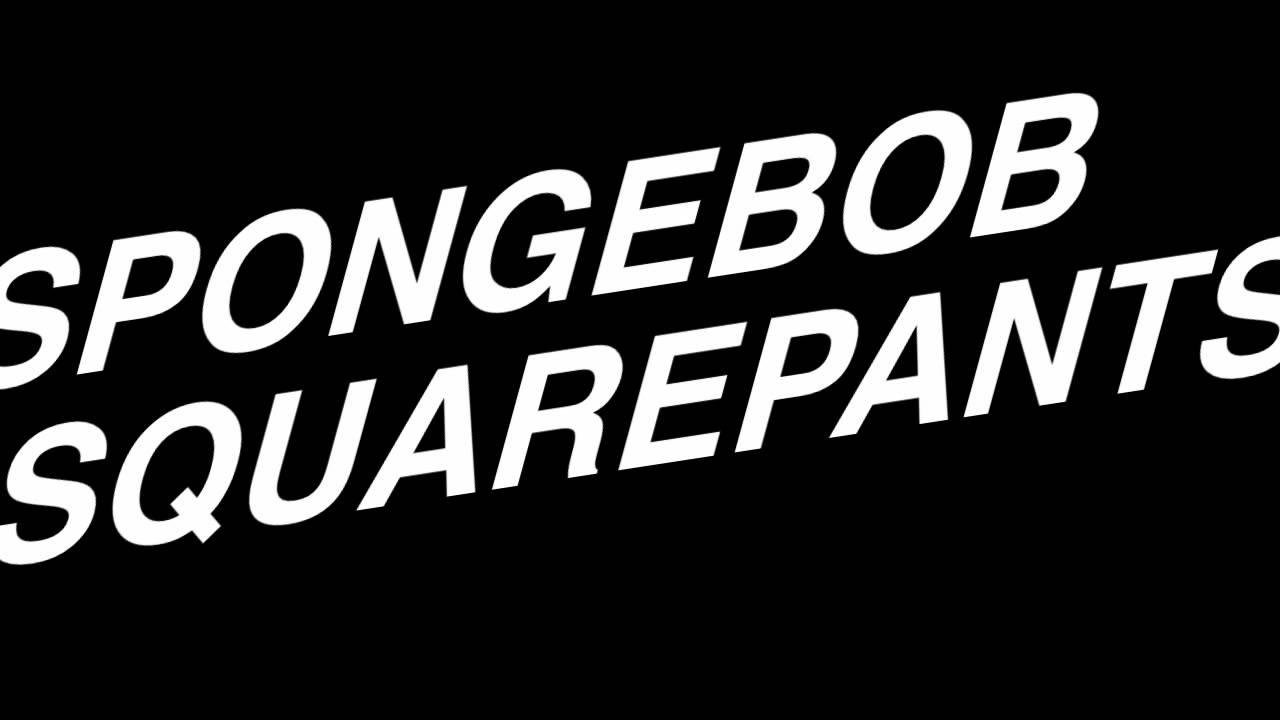 Spongebob Squarepants Theme Song - YouTube