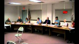 Washington Township Board - 9/12/12 (Will County, IL)