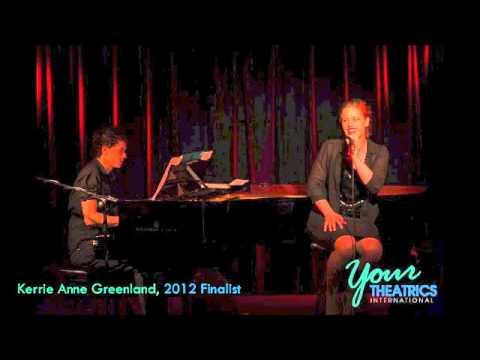 Kerrie Anne Greenland: Finalist, 2012 Australian Cabaret Showcase