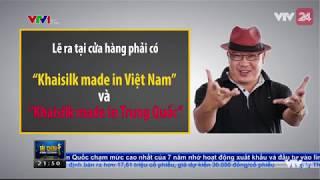 """Tượng đài """"bàn tay, khối óc Việt"""" Khaisilk sụp đổ - Tin Tức VTV24"""