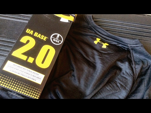 b1764cf207ca Under Armour Base 2.0 - YouTube