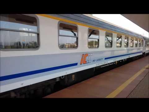 TLK Kiev Express wjeżdża na stację Świdnik Miasto