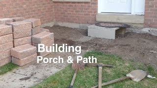 Gambar cover Building a Porch and Path way front of House