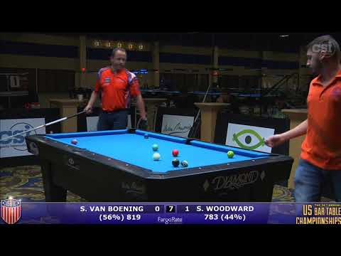 2017 US Bar Table Championships 10-Ball: Shane Van Boening vs Skyler Woodward