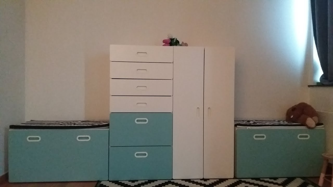 Closet Wardrobe Ikea Stuva Grundlig Part 3 Youtube